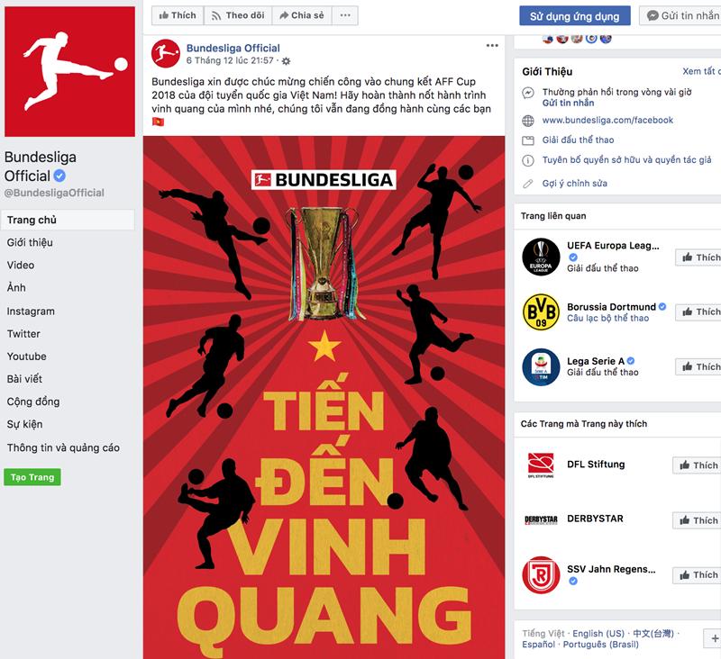 Sau La Liga, đến lượt Bundesliga gửi thông điệp cho tuyển Việt Nam - Bóng Đá
