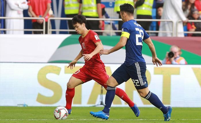 Tuyển Việt Nam đã có một màn trình diễn quả cảm trước tuyển Nhật Bản.