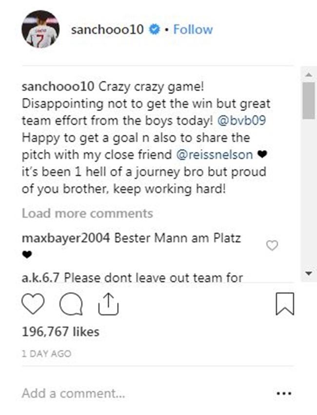 Sancho gửi thông điệp đến sao mai của Arsenal - Bóng Đá