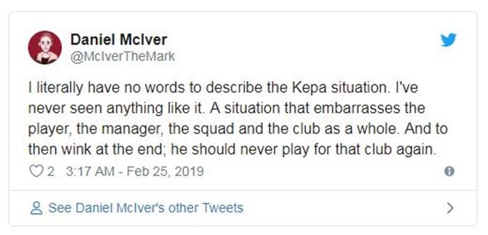 Chelsea thua đau Man City, CĐV nói lời thẳng thắn về Kepa - Bóng Đá