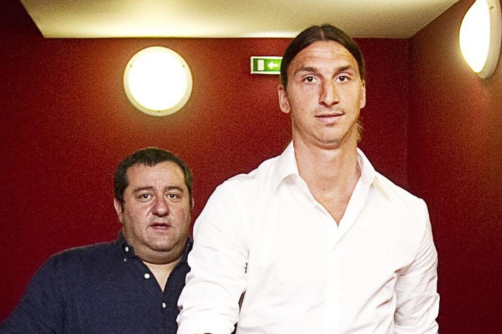 Cuộc gặp gỡ định mệnh của Ibrahimovic và Raiola - Bóng Đá