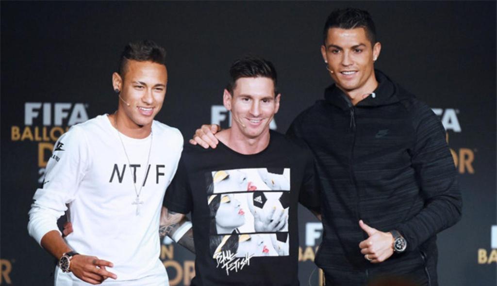 Messi, Ronaldo, Neymar hy sinh và đánh đổi - Bóng Đá