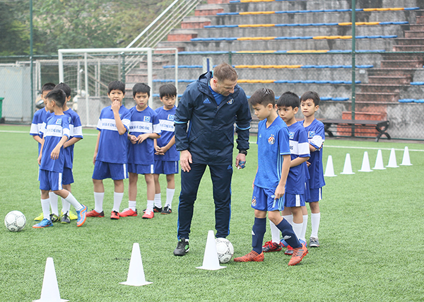 Đội bóng cũ của Luka Modric hỗ trợ bóng đá trẻ Việt Nam - Bóng Đá