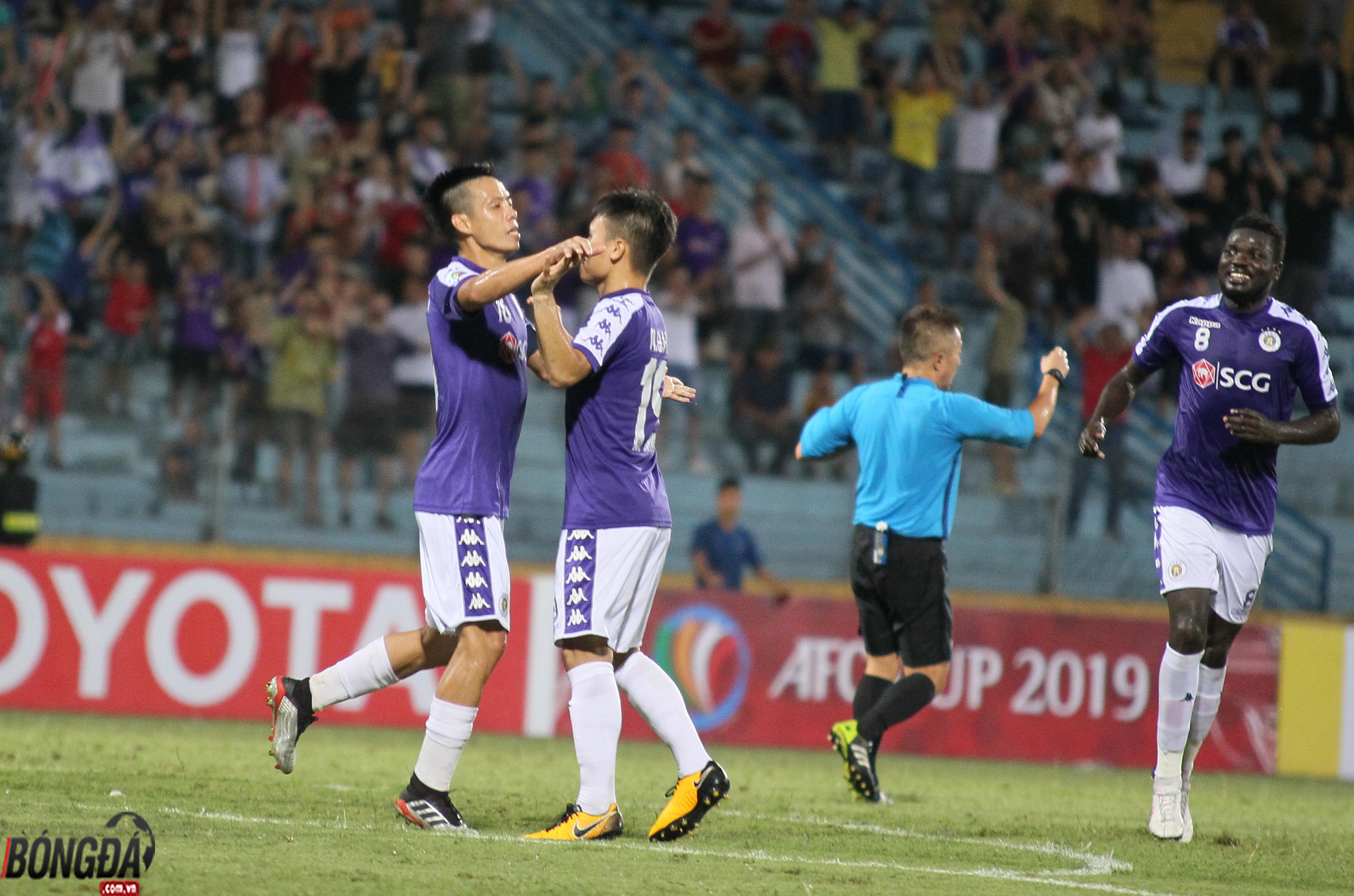 Đánh bại Ceres Nagros, Hà Nội FC vào chơi chung kết AFC Cup 2019 - Bóng Đá