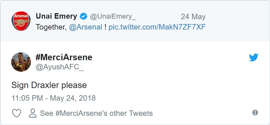 Fan Arsenal phấn khích với thương vụ Julian Draxler - Bóng Đá