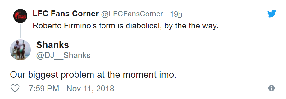 Liverpool fans on Twitter have been tearing into Roberto Firmino - Bóng Đá