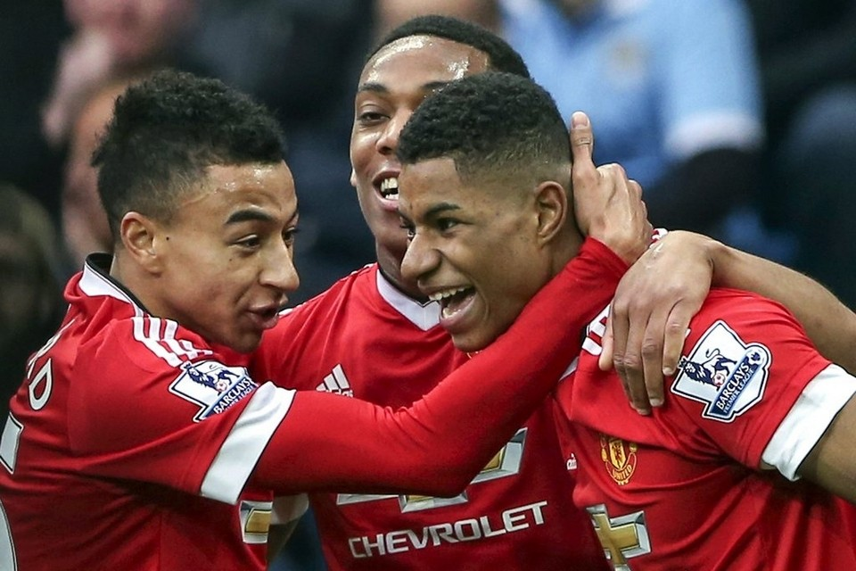 Manchester United players Anthony Martial, Marcus Rashford and Jesse Lingard set challenge - Bóng Đá
