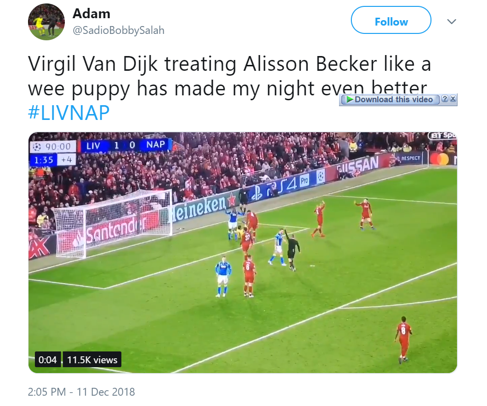 """""""Worth every fricking penny"""", """"Wonder Hands"""": Some Liverpool fans laud this key star in 1-0 win over Napoli + Match Report - Bóng Đá"""