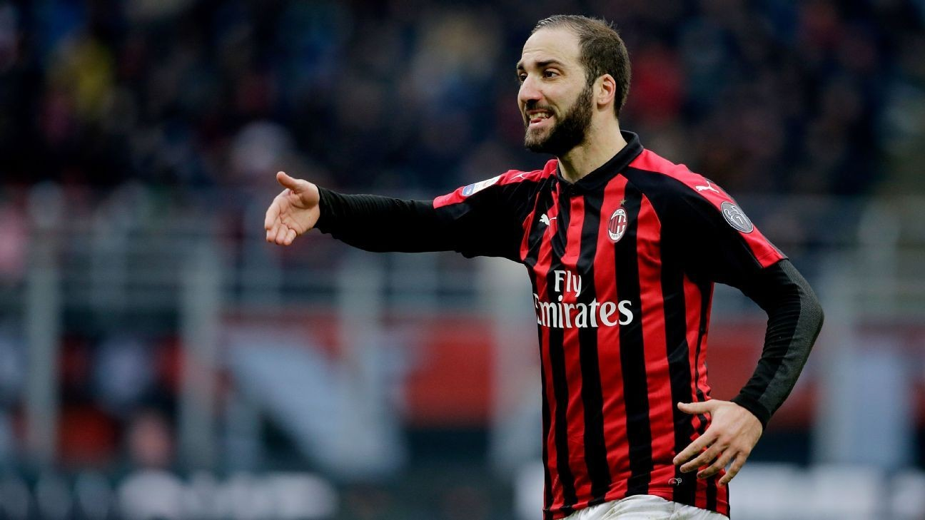 Serie A: Chelsea target Gonzalo Higuain wants to leave AC Milan, says coach Gennaro Gattuso - Bóng Đá