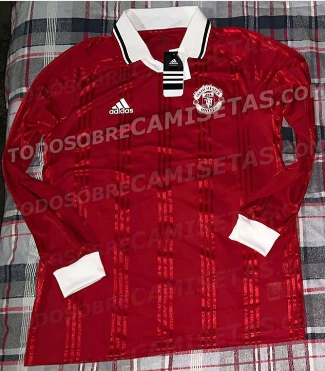 Nóng! Mẫu áo đấu mùa tới của Man Utd lộ diện - Bóng Đá
