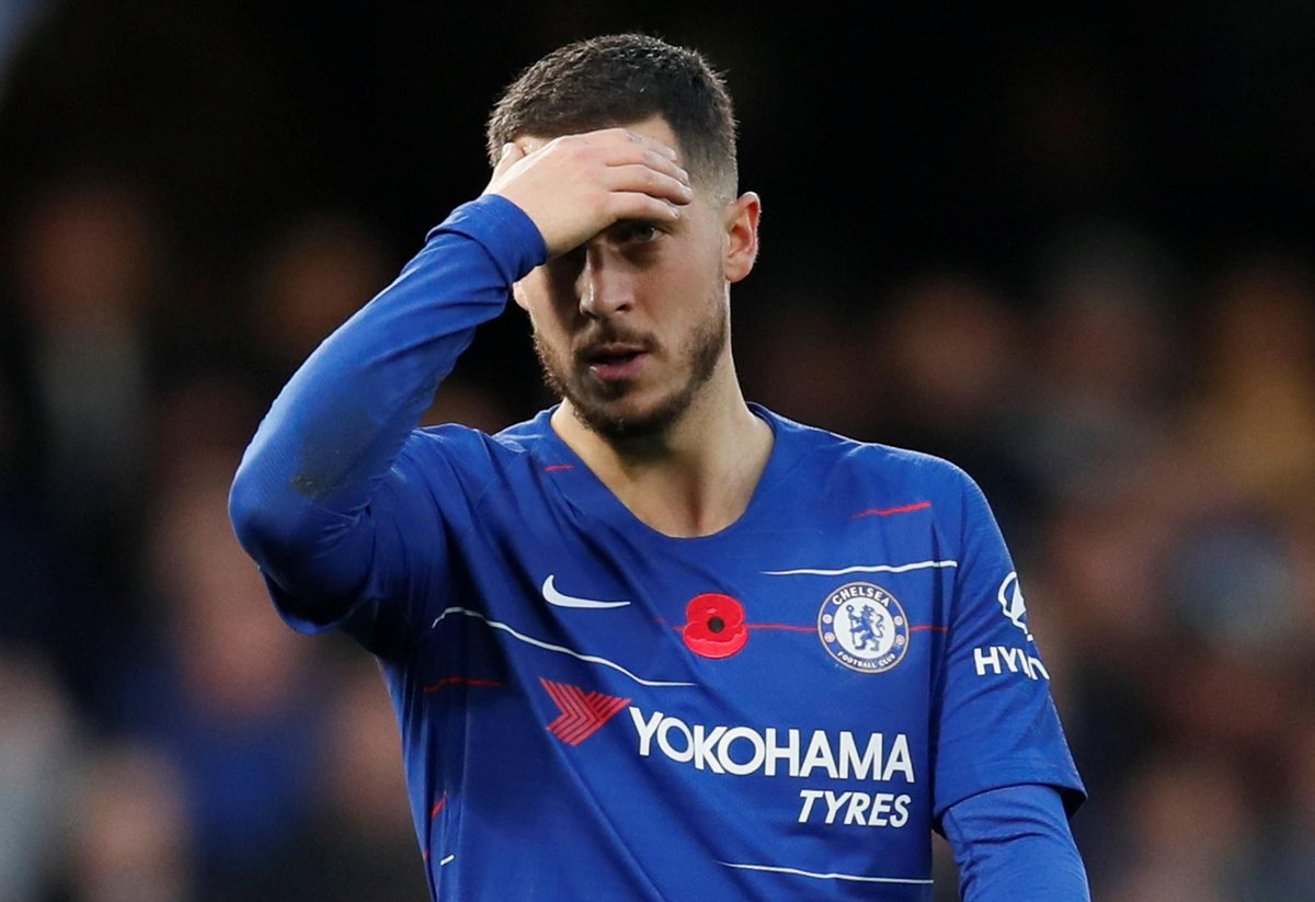 Chelsea set £98.5m asking price for Eden Hazard after rejecting transfer bid - Bóng Đá