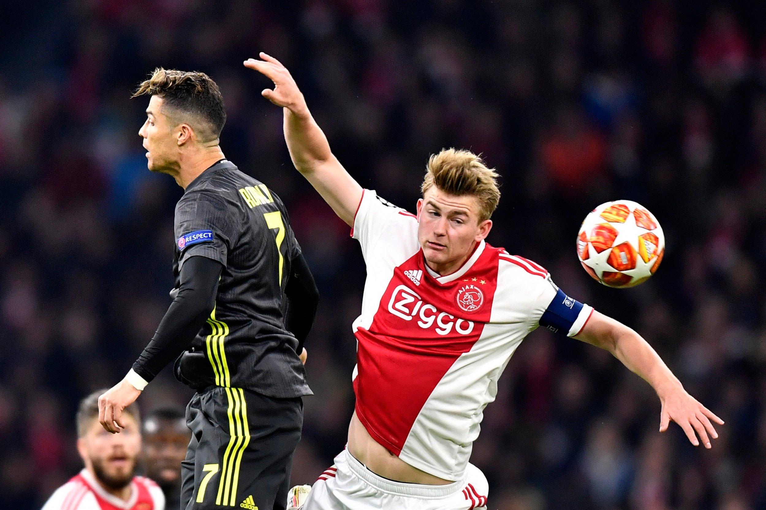 'This is Ronaldo': Juventus boss Max Allegri demands MORE as Cristiano Ronaldo stops Ajax - Bóng Đá