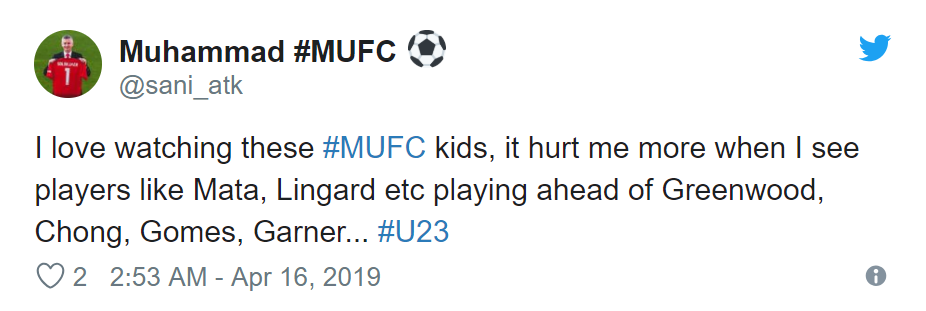 Manchester United fans react to Mason Greenwood's under-23 performance - Bóng Đá