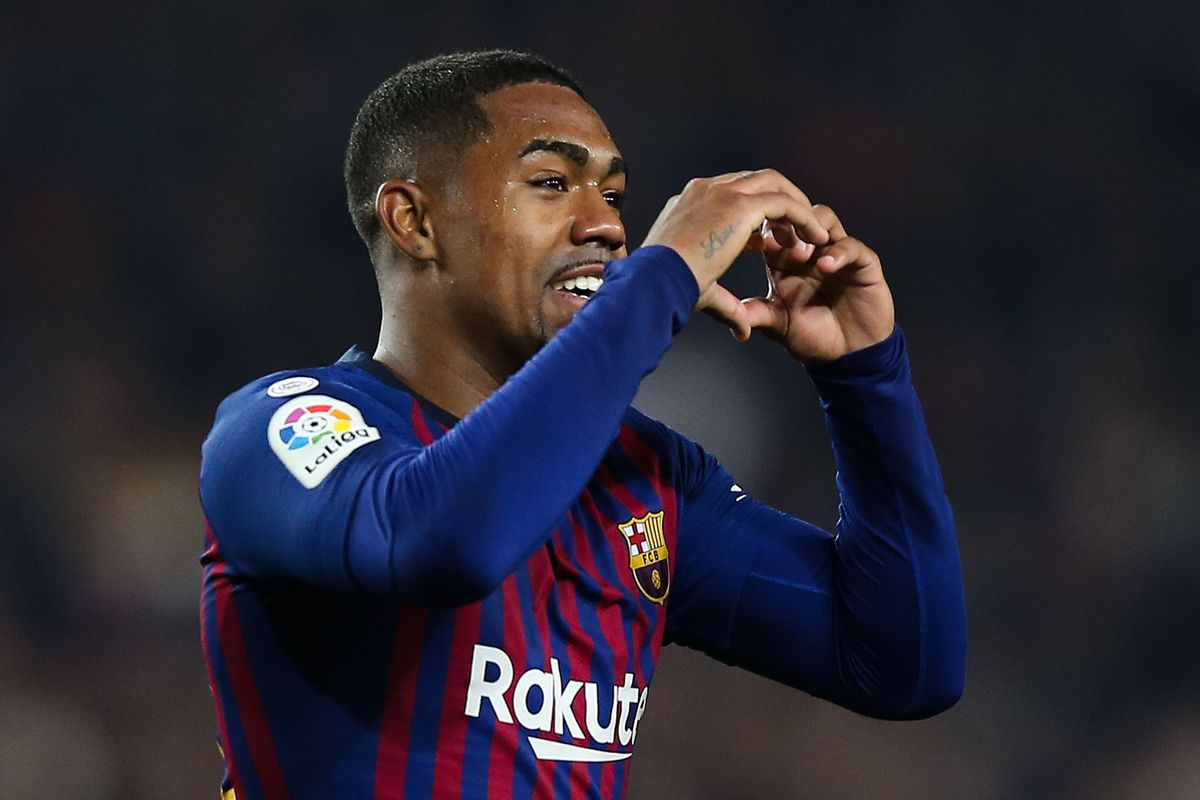 Malcom wants Barcelona exit in the summer as they slap £39m price tag on Tottenham and Arsenal target - Bóng Đá