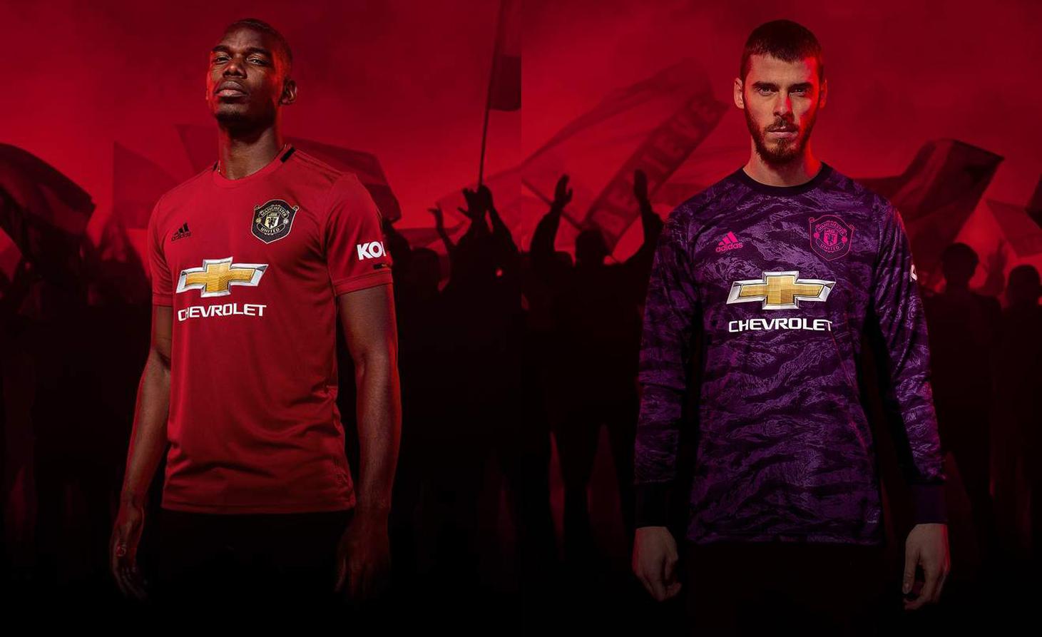Nóng! Man Utd tung mẫu áo mới, Pogba và De Gea xuất hiện mê người - Bóng Đá