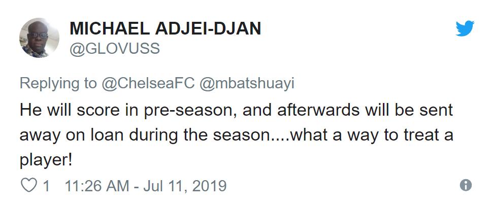 Chelsea fans react to Michy Batshuayi's pre-season display - Bóng Đá