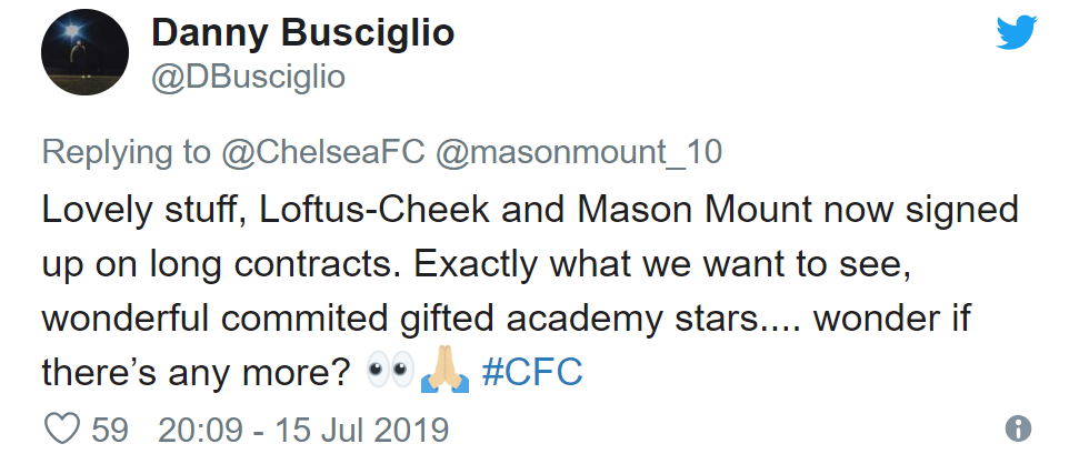 Chelsea fans react as Mason Mount signs new contract - Bóng Đá