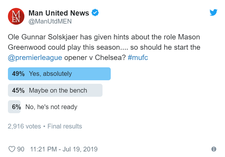 Manchester United fans send Solskjaer message about Mason Greenwood - Bóng Đá