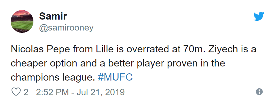 Manchester United advance in Nicolas Pepe talks with Lille, fans react - Bóng Đá