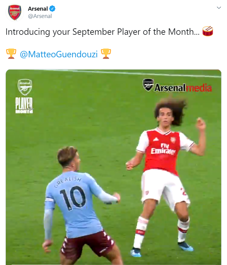 Matteo Guendouzi được chọn làm cầu thủ của tháng - Bóng Đá