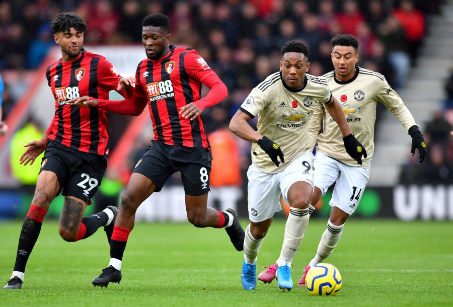 Man Utd fans slam Anthony Martial after anonymous display against Bournemouth - Bóng Đá
