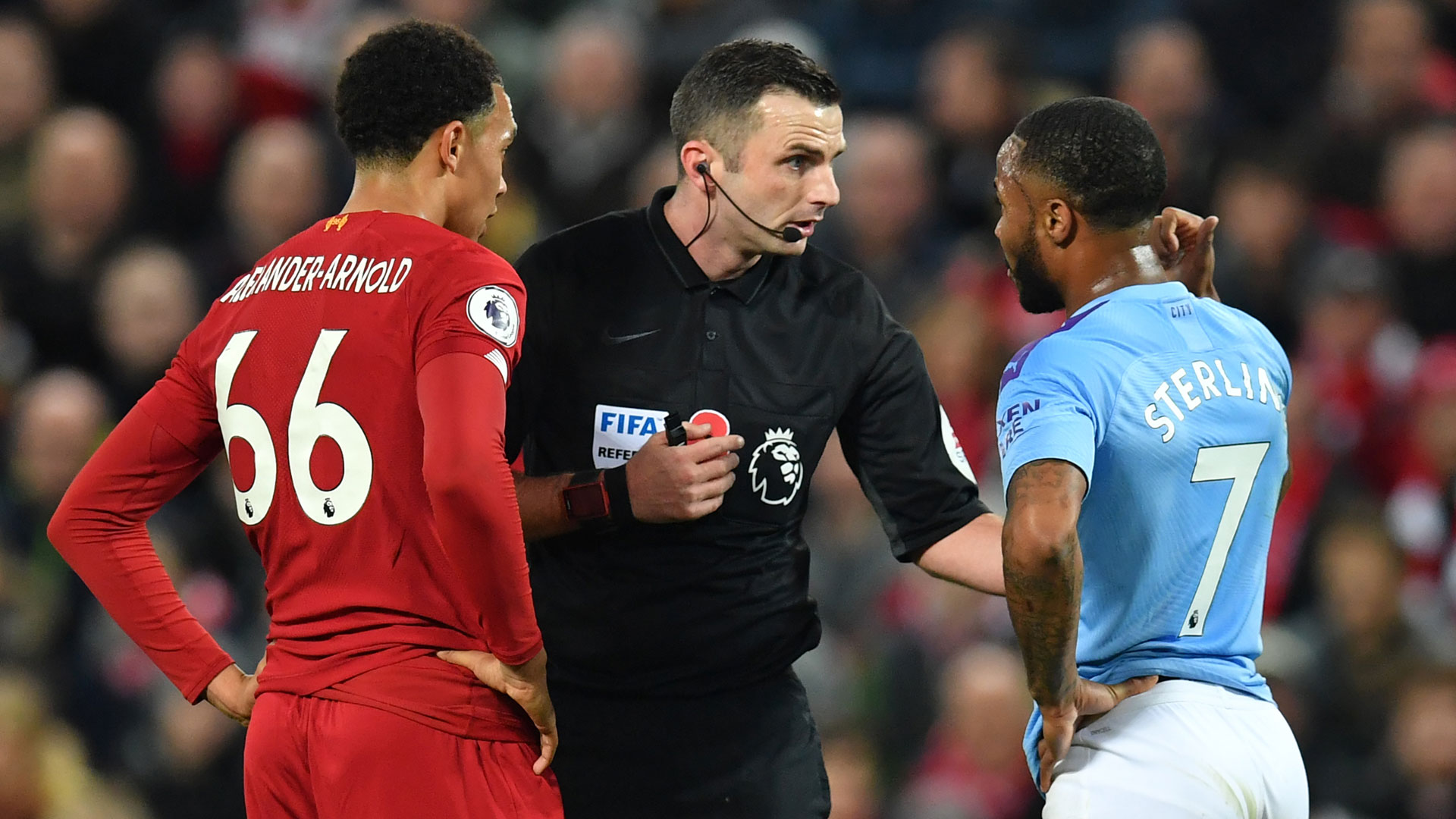 Three things you missed from Liverpool vs Man City, including Raheem Sterling bust-up - Bóng Đá