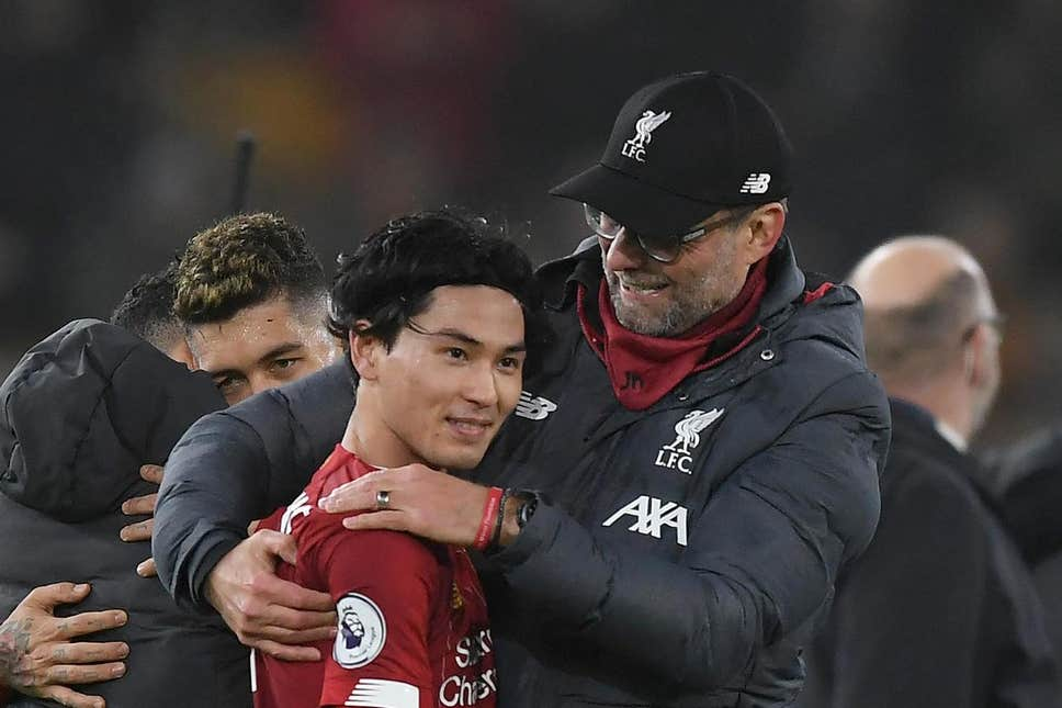 Jurgen Klopp reveals what troubled Takumi Minamino after coming on for Liverpool against Wolves - Bóng Đá