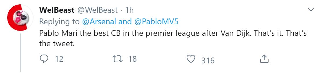 fan Arsenal phản ứng thế nào về Pablo Mari - Bóng Đá