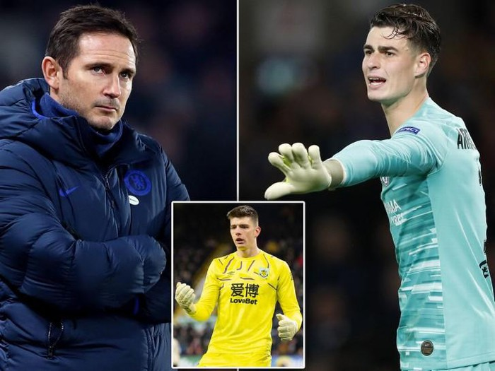 Chelsea boss Frank Lampard makes decision on Kepa Arrizabalaga starting in Man Utd clash - Bóng Đá