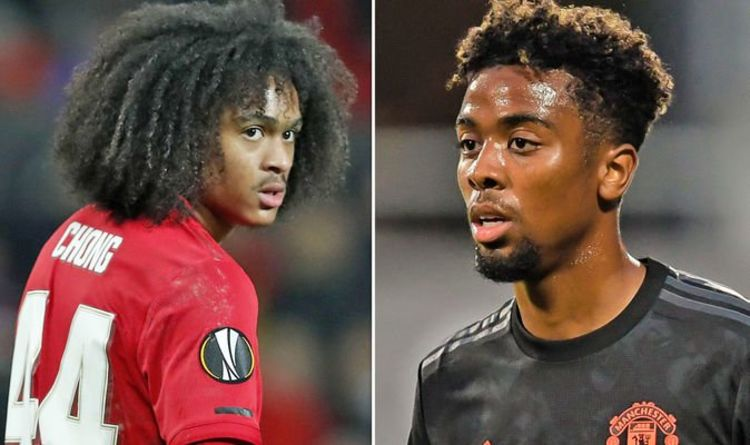 Manchester United give fresh Angel Gomes and Tahith Chong contract updates after friendly appearance - Bóng Đá