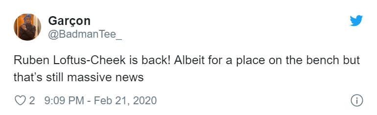 Lampard xác nhận 1 cái tên có thể sẽ ra sân, fan