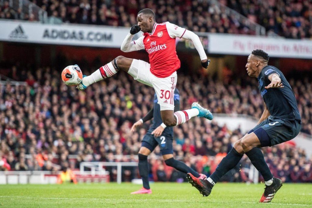 Phản ứng fan Arsenal về Eddie Nketiah - Bóng Đá