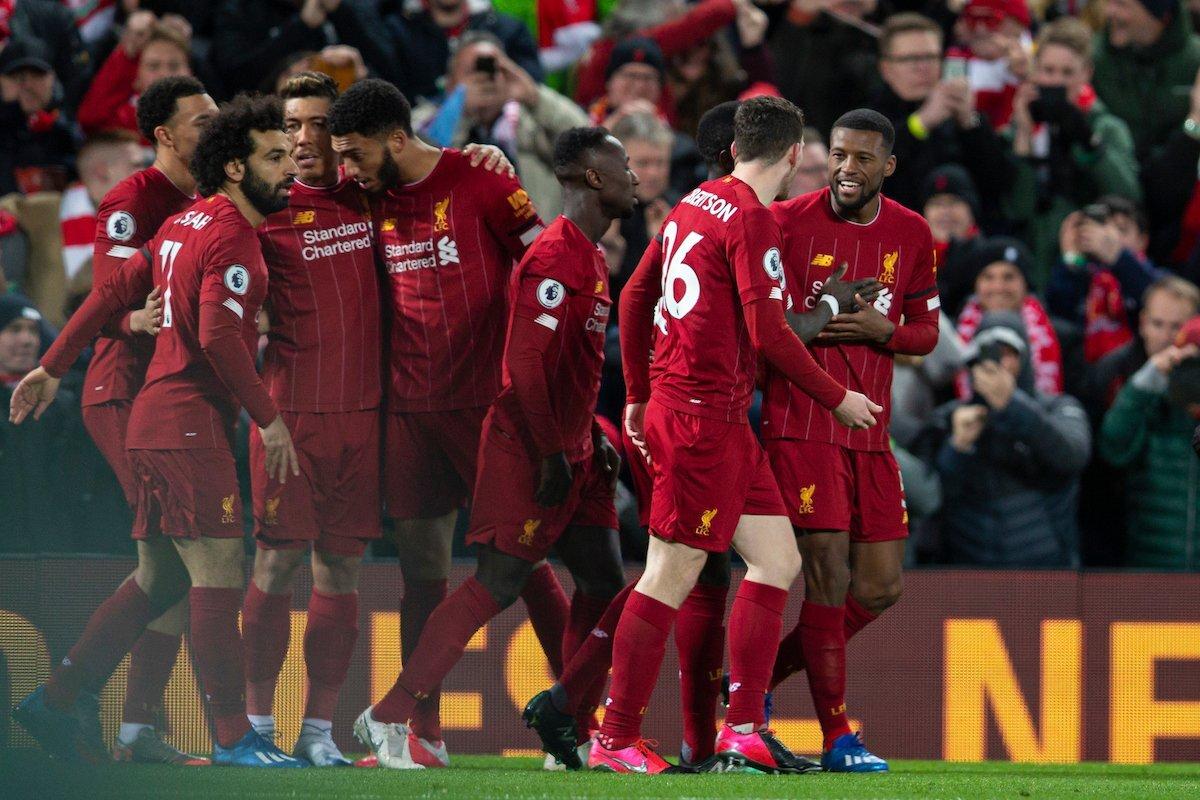Liverpool thắng 26 trận, nhiều hơn số trận thắng max có thể của MU mùa này - Bóng Đá