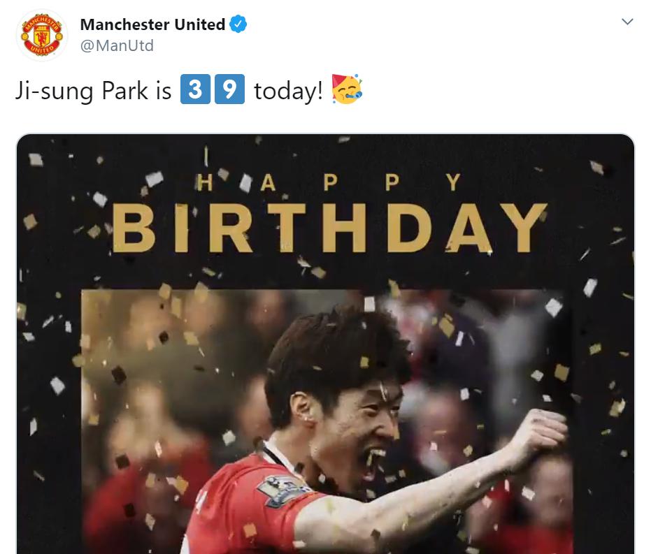 sinh nhật park ji sung, phản ứng fan - Bóng Đá
