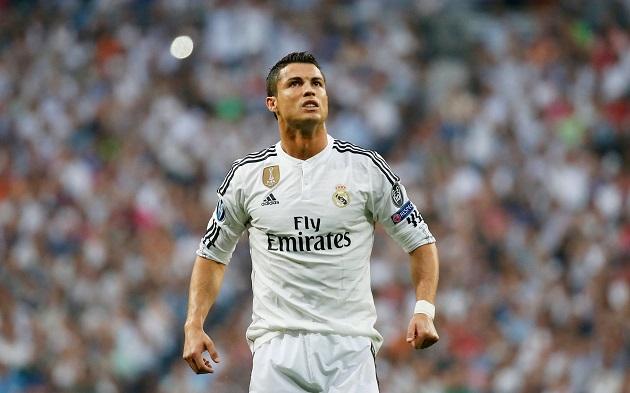 Thô.ng số. thú. vị. về. cá.c bà.n thắ.ng của Ronaldo mù.a 2014/15 - Bó.ng Đá.