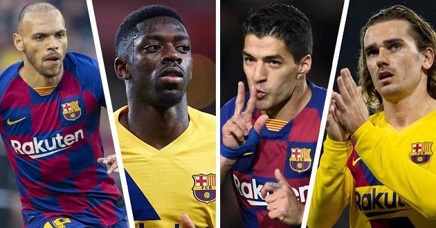 Fan muốn ai phải rời đi nếu Barca mua Neymar và Lautaro Martinez