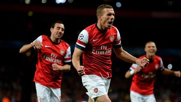 Nhìn lại thống kê Lukas Podolski ở Ars - Bóng Đá