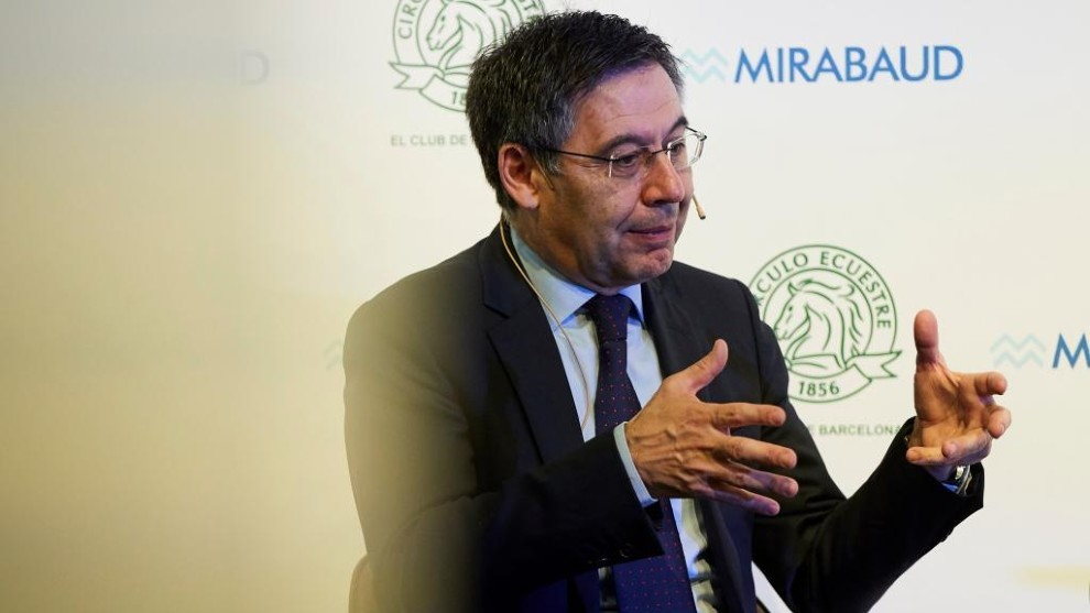 Bartomeu: Barcelona would not go bankrupt in June - Bóng Đá