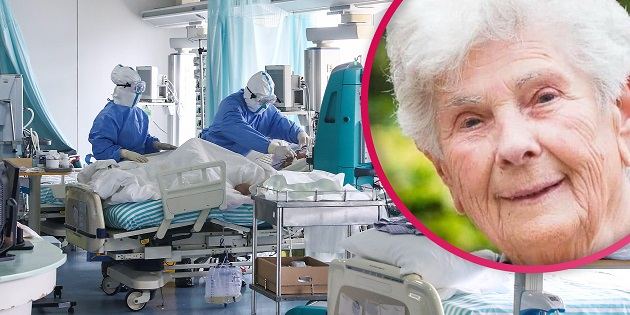 Woman, 90, dies giving up ventilator saying 'I had a good life, keep this for the younger' - Bóng Đá