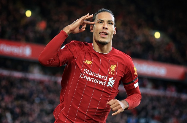 Van Dijk: 'I'd like to be remembered as a Liverpool legend' - Bóng Đá