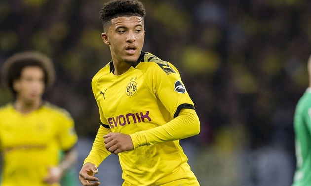 Jadon Sancho backed to reject both Liverpool and Man City and complete Man Utd transfer - Bóng Đá
