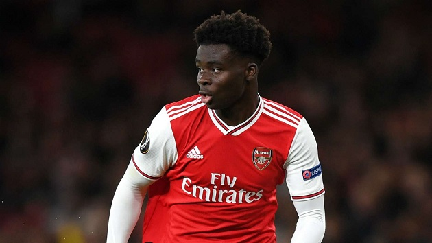 Arsenal fans convinced Bukayo Saka will reject Liverpool, Man Utd to sign new contract - Bóng Đá