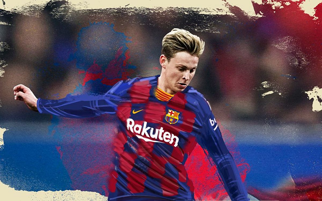 Sneijder backs de Jong - but there are 3 more Barca players who may replace Messi as leader - Bóng Đá