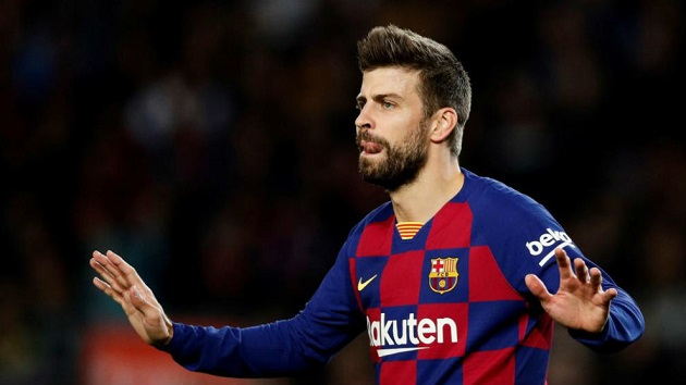 Pique: 'I think it's going to be very difficult to win the league' - Bóng Đá