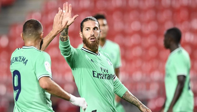 Ramos chỉ ra điều không hài lòng ở chiến thắng của Real - Bóng Đá