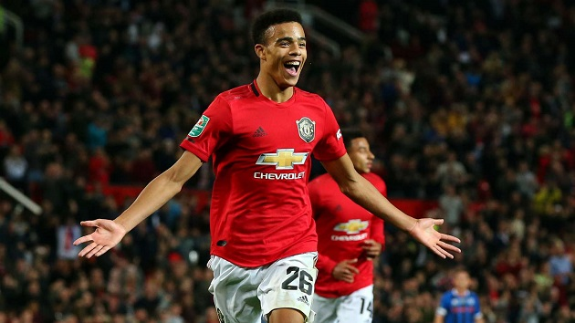 Mason Greenwood wins United's Player of The Month for July - Bóng Đá