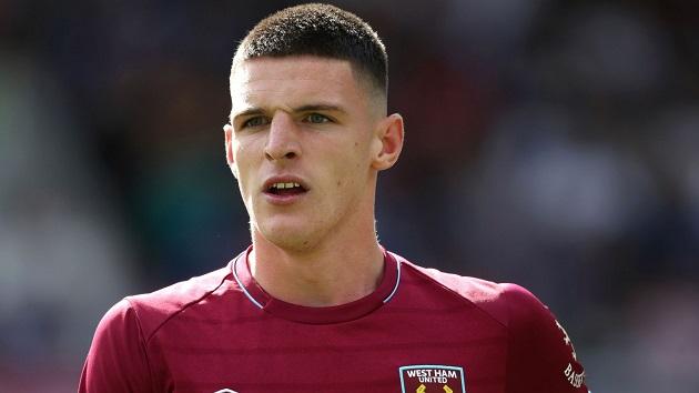 West Ham reportedly slap heavy price tag on Declan Rice amid Chelsea rumours - Bóng Đá