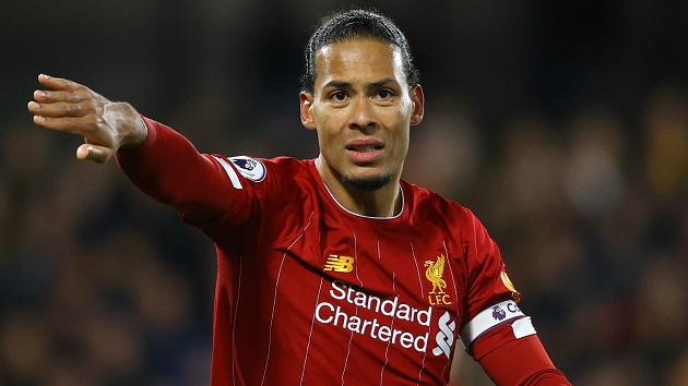 Crouch completely exposes Van Dijk's stat about goal-leading errors: Here's why the information is misleading - Bóng Đá