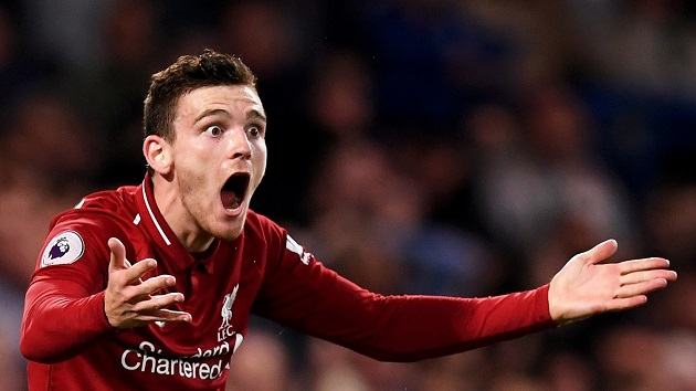 Andy Robertson plays down Chelsea's spending as major factor in 2020/21 title race - Bóng Đá