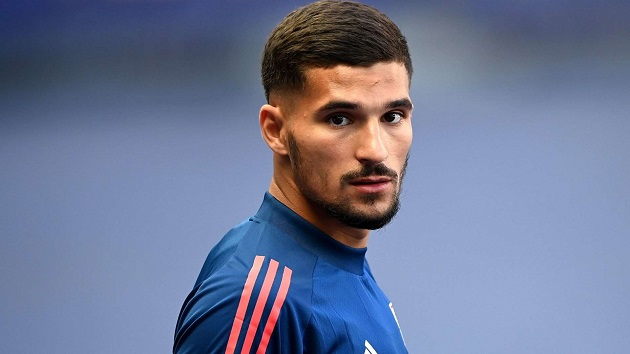 Arsenal transfer target Houssem Aouar took transfer stance due to two Gunners stars - Bóng Đá